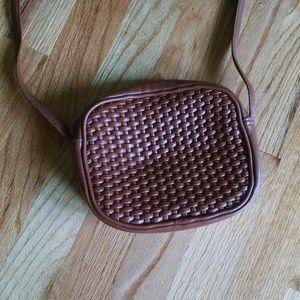 Amanda Smith brown crossbody purse